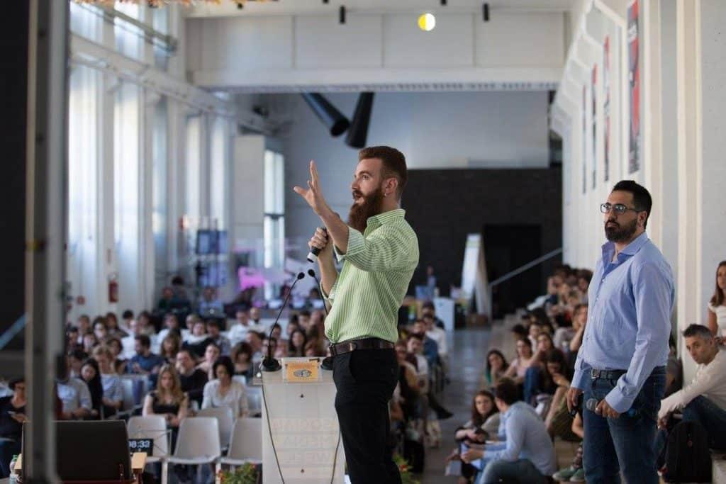 Alberto Maestri e Francesco Gavatorta alla Social Media Week Milano con un workshop targato Ninja Academy