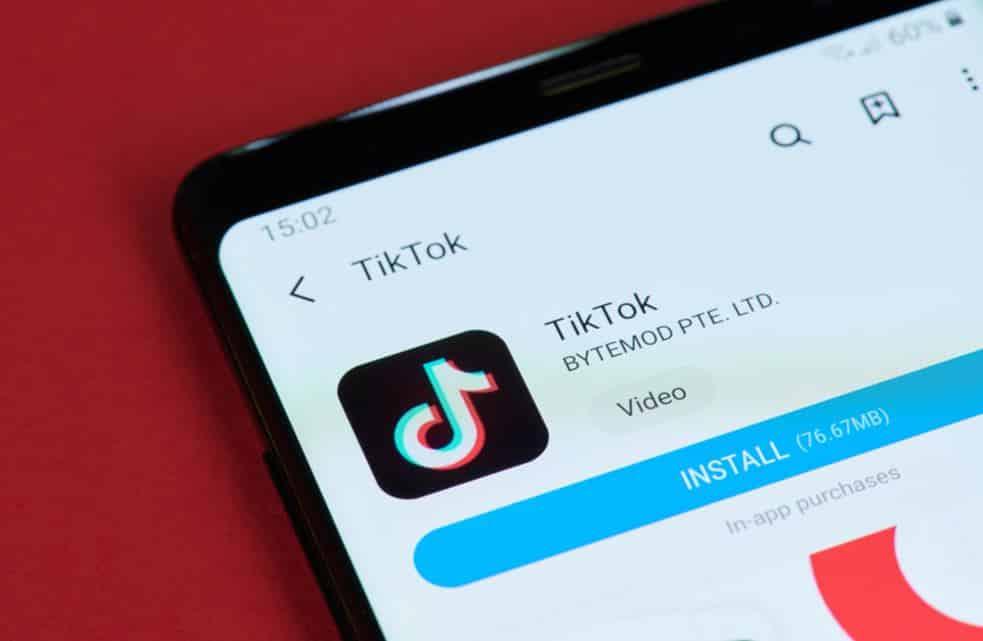 Influencer marketing con i video Tik Tok