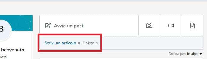 content su linkedIn